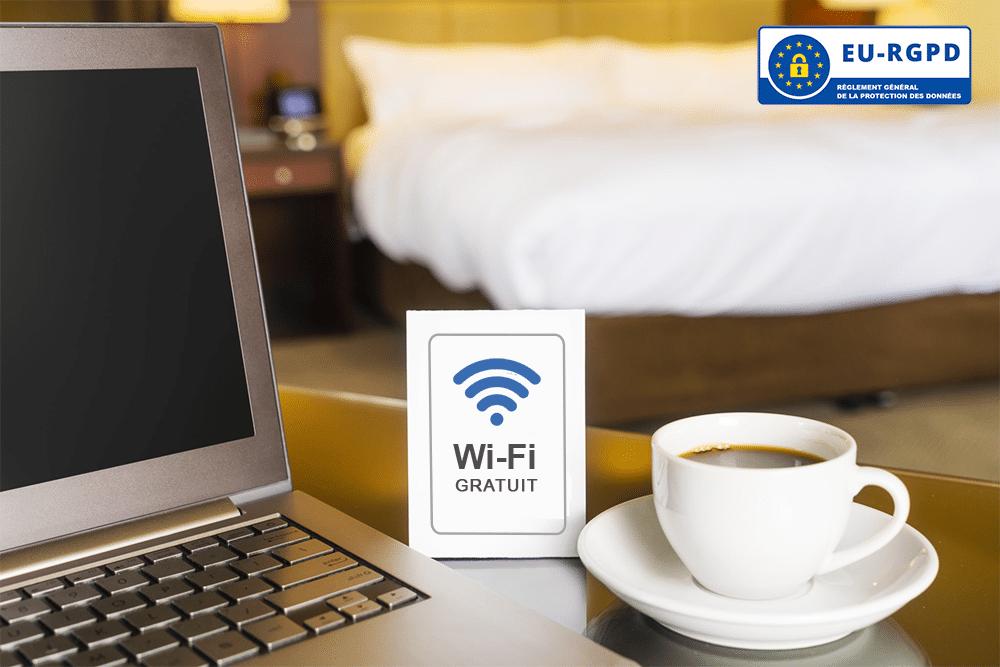 Les accès Wi-Fi public et le RGPD dans les hôtels et restaurants